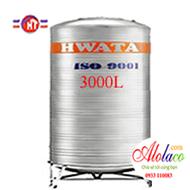 bồn inox Hwata 3000 lít đứng