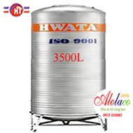 bồn inox Hwata 3500 lít đứng