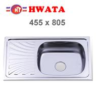chậu inox Hwata B6