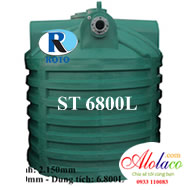 Bồn tự hoại ROTO 6800 lít