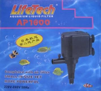máy bơm hồ cá Lifetech Ap1600